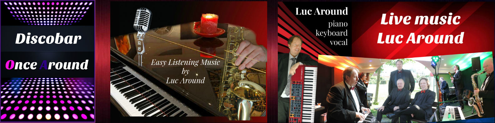 Livemuziek Luc Around cover
